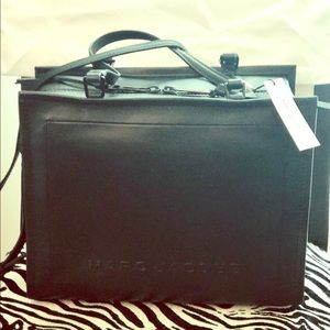 Marc Jacobs Extra Lg. Box Leather Tote